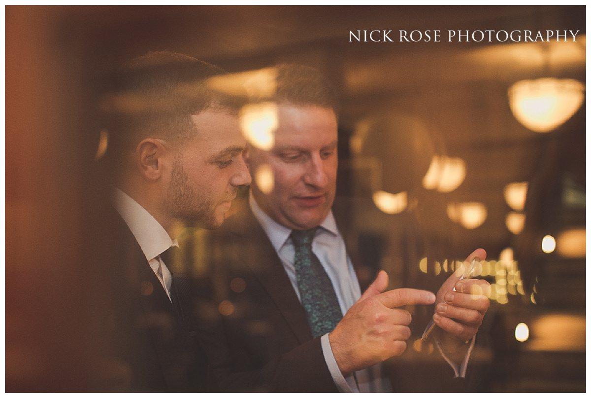 Wedding reception at London's Hawksmoor