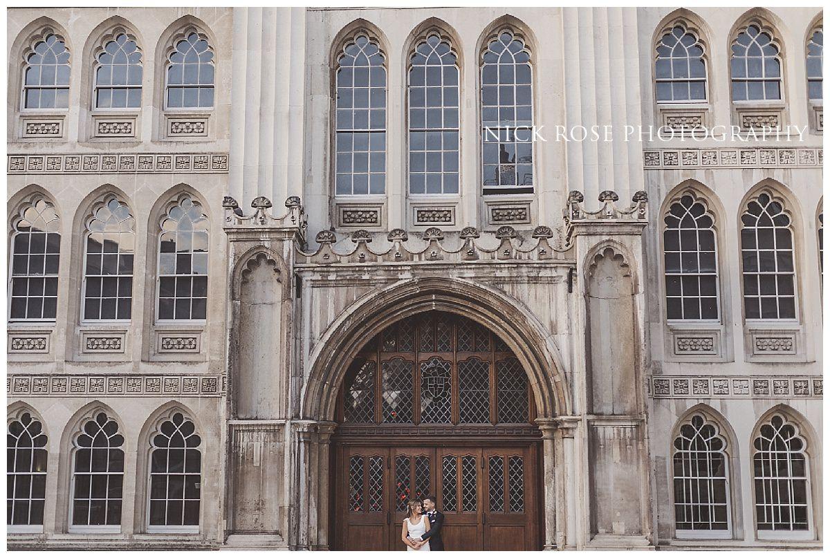 Guildhall London wedding photography