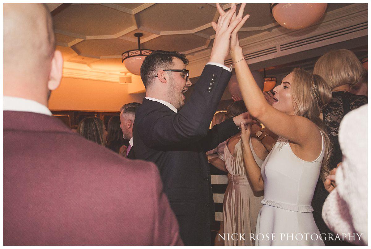 Guildhall London wedding reception dancing