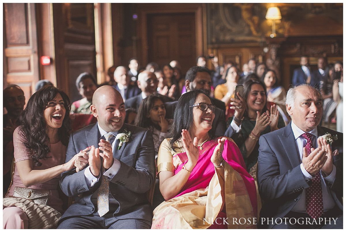 Hindu civil wedding ceremony at Moor Park Rickmansworth