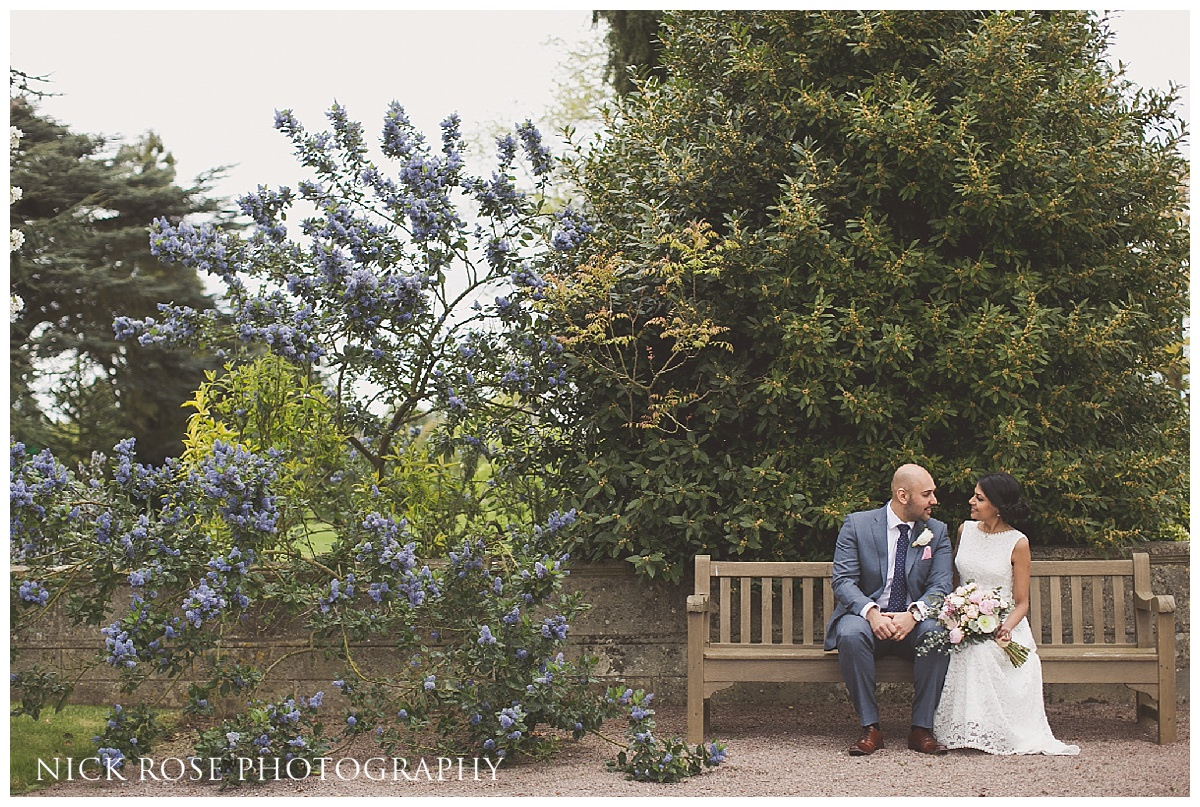 Wedding photography at Moor Park in Rickmansworth