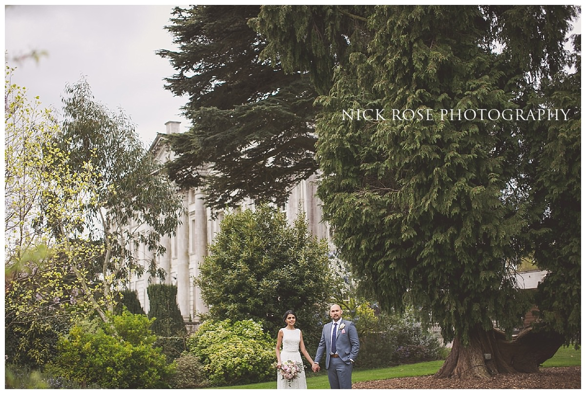 Indian wedding photography at Moor Park in Rickmansworth