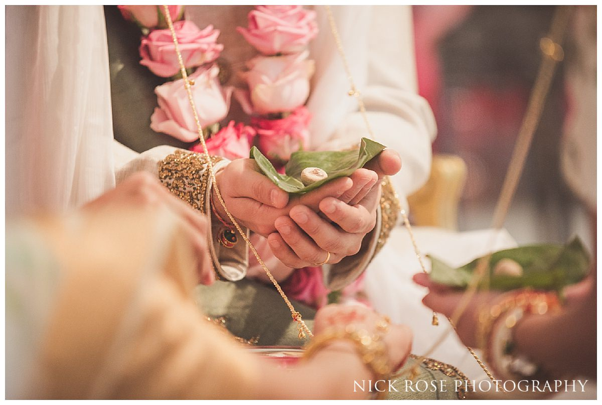 Hindu wedding ceremony photography at The Grove in Chandler's Cross Hertfordshire