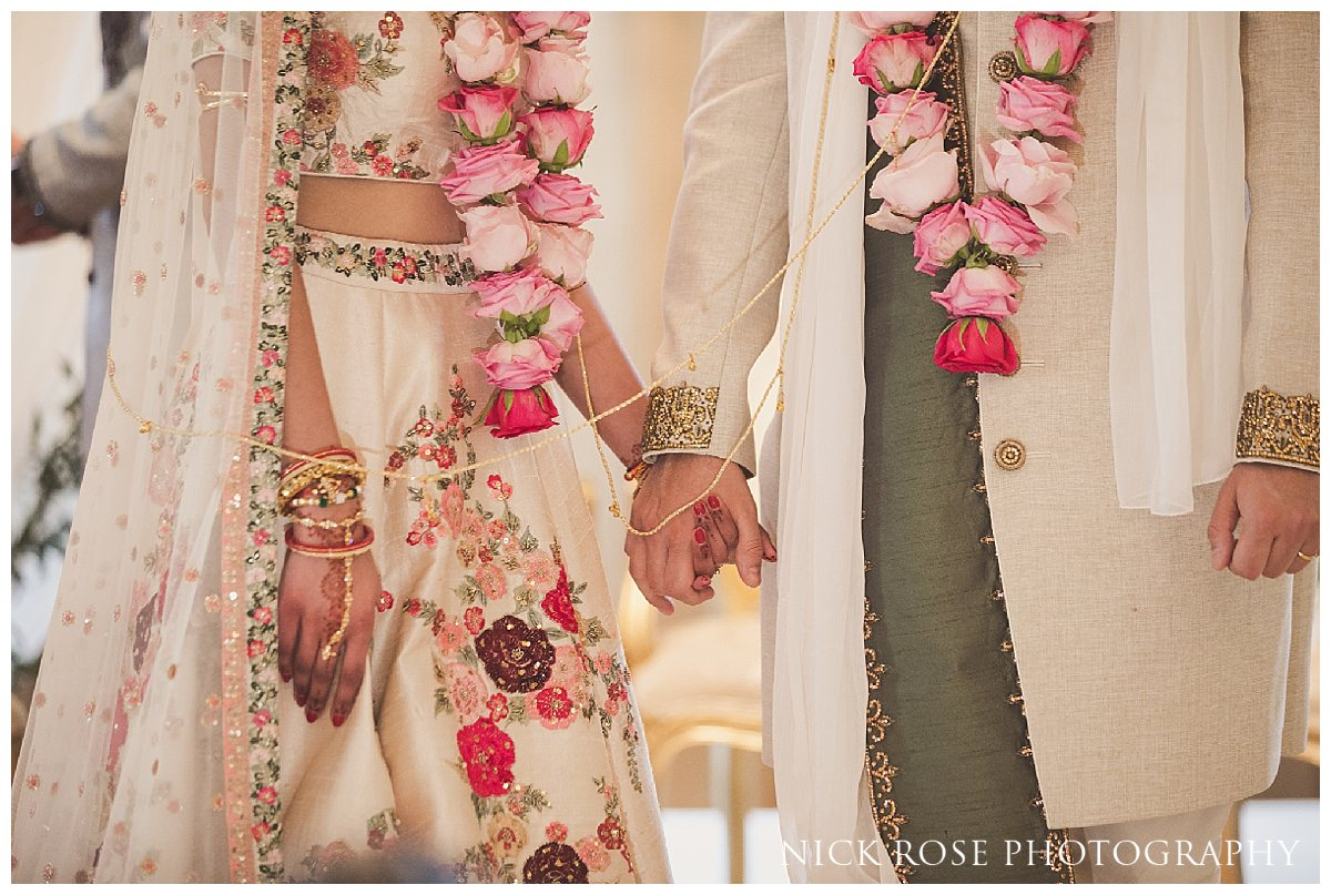 Indian wedding ceremony photography at The Grove in Chandler's Cross Hertfordshire