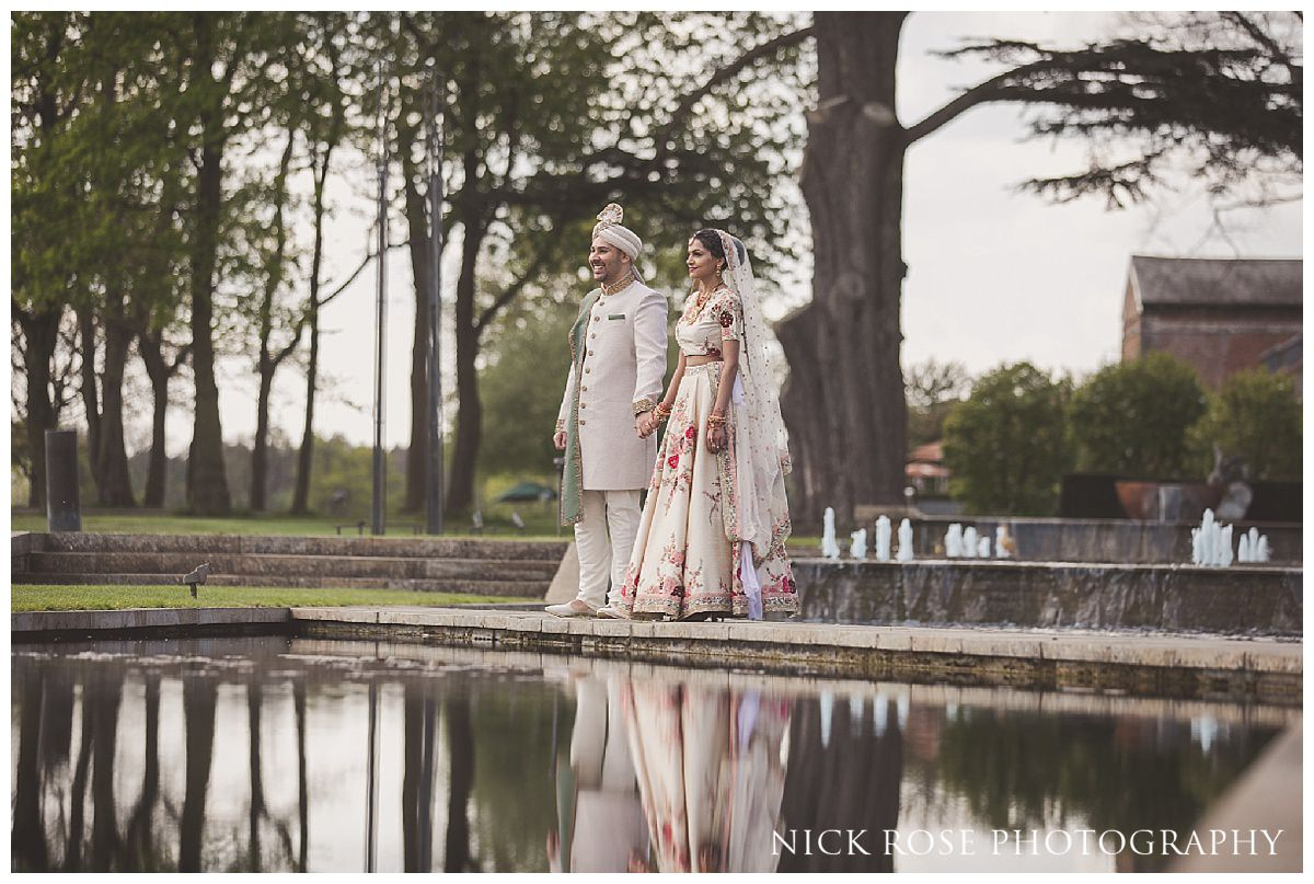 Hindu wedding photography at The Grove in Hertfordshire
