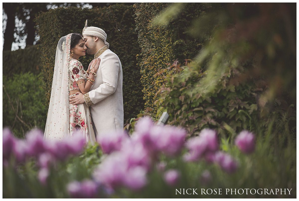 Asian Hindu wedding photography at The Grove in Hertfordshire