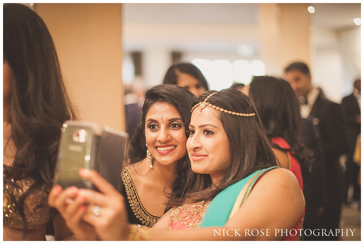 Hindu wedding reception at The Grove in Chandler's Cross in Watford