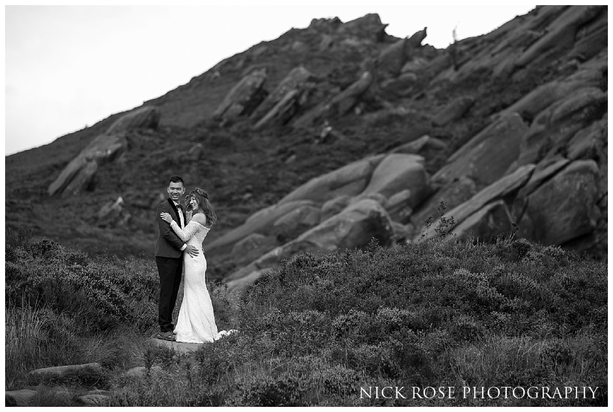 Ramshaw Rocks Pre Wedding Photography in the Peak District