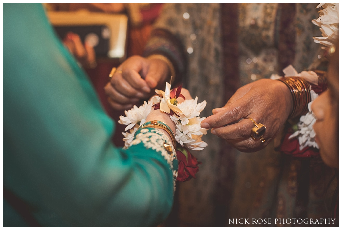Pakistani pre wedding mehndi at the Sheraton Grand in Park Lane