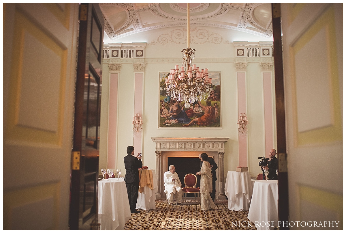 Asian wedding event at the Pakistani Wedding at the Ritz Hotel London