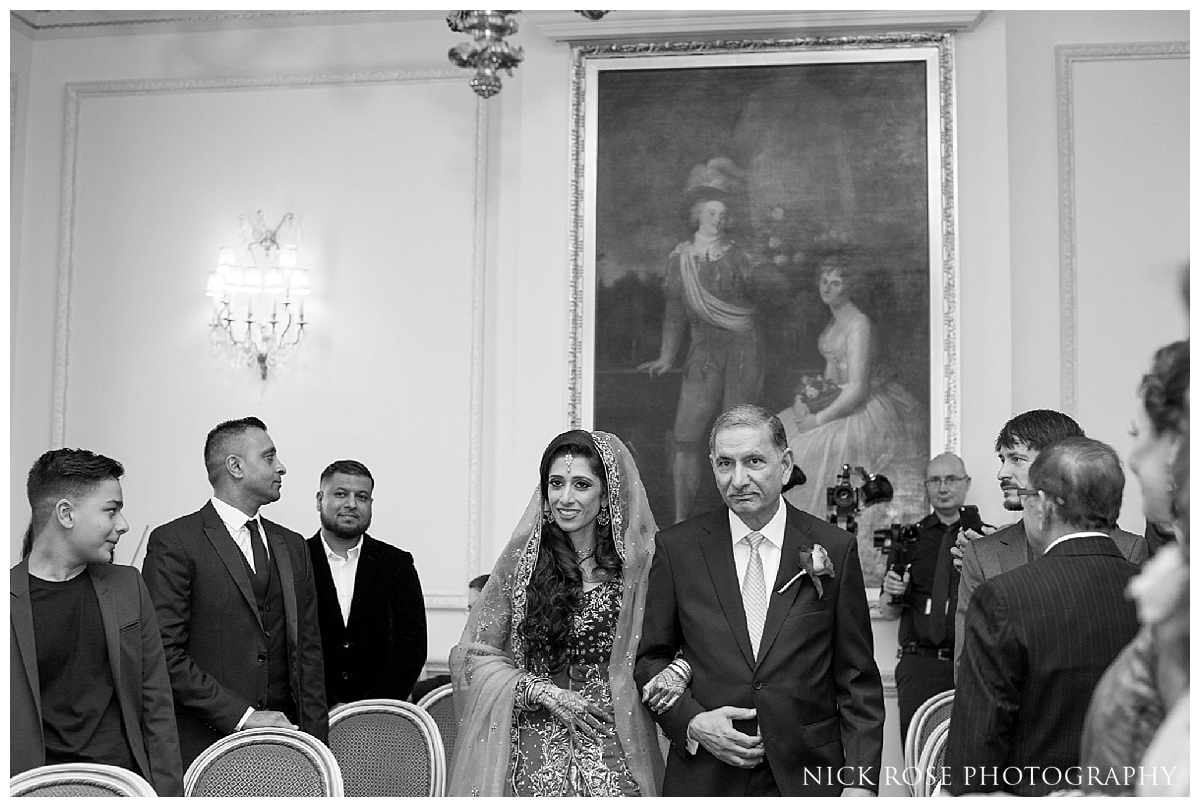 Asian wedding ceremony at the Ritz London