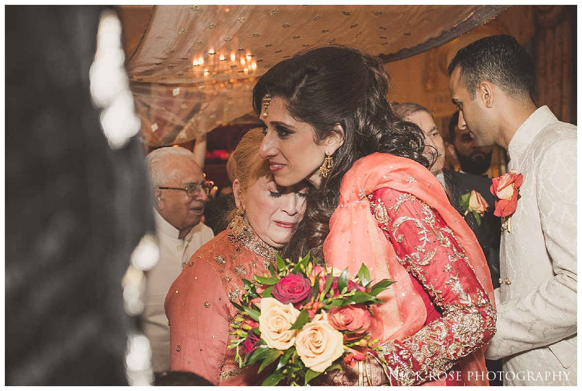 Emotional Pakistani wedding exit at the Ritz Hotel in London