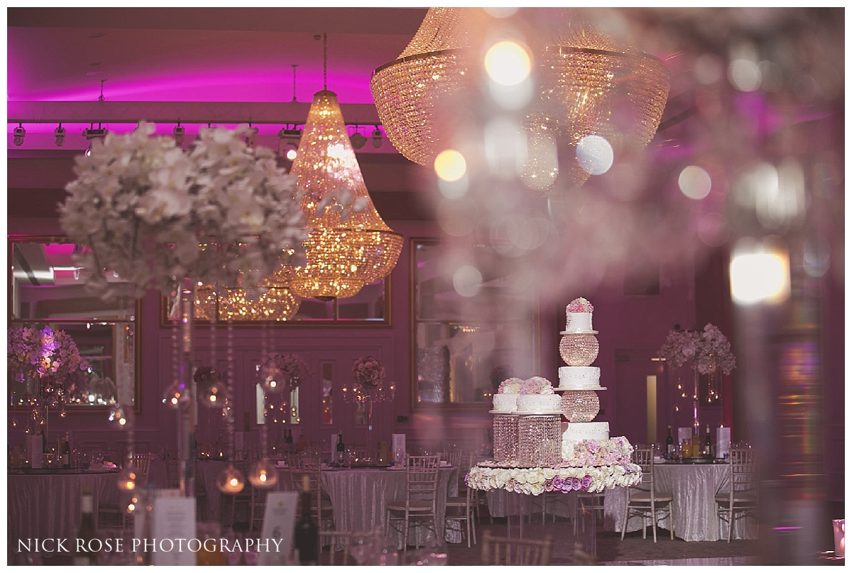 Asian wedding cake at Meridian Grand in London