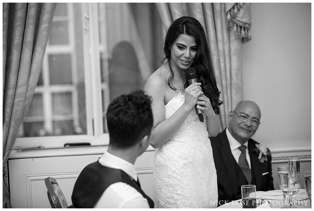 Mayfair wedding reception photography at Dartmouth House London