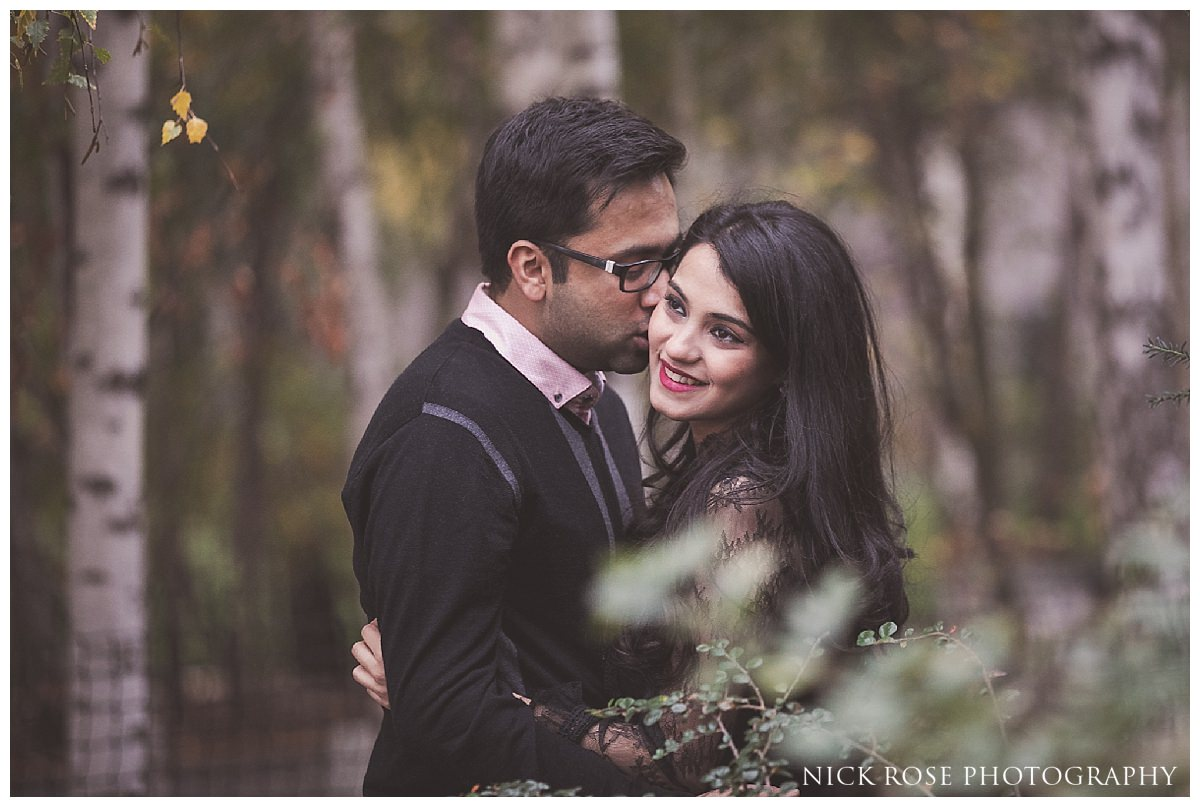 Romantic pre wedding photography in London England
