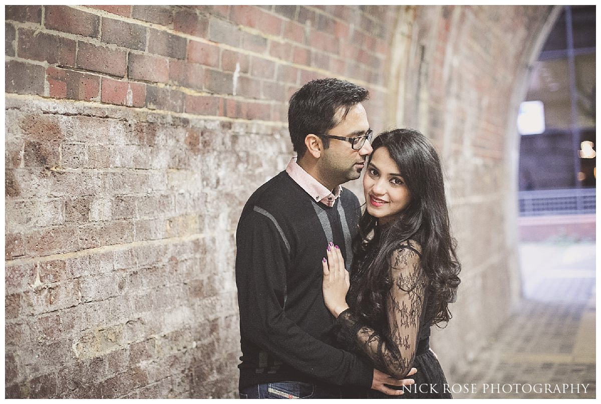 Urban pre wedding photography shoot in London