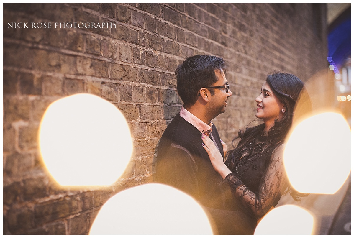 Pre wedding engagement photography shoot in London