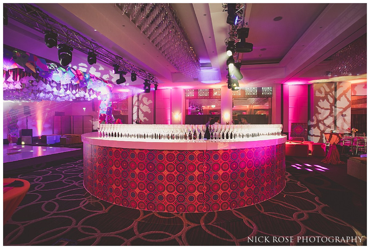 Moncalm Hotel sangeet Photography in London