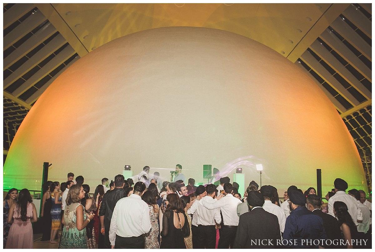 Wedding reception in Spain