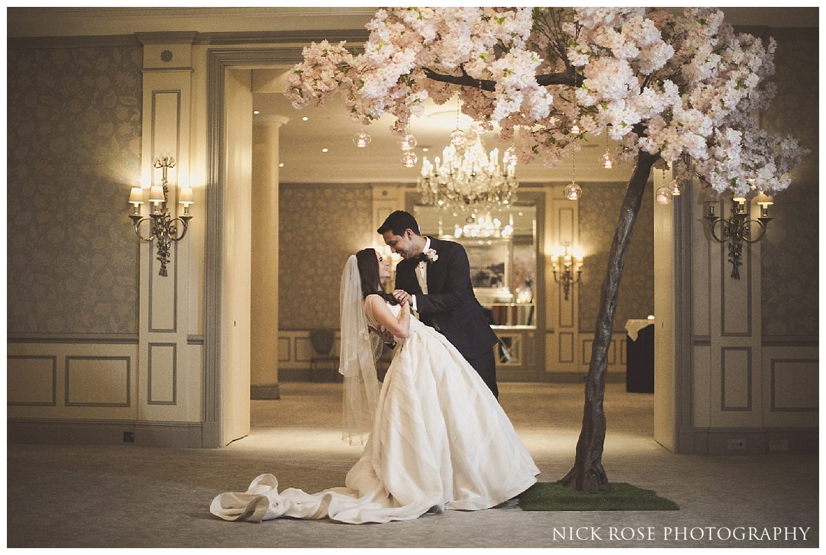 The Savoy London wedding photography by Nick Rose Photography