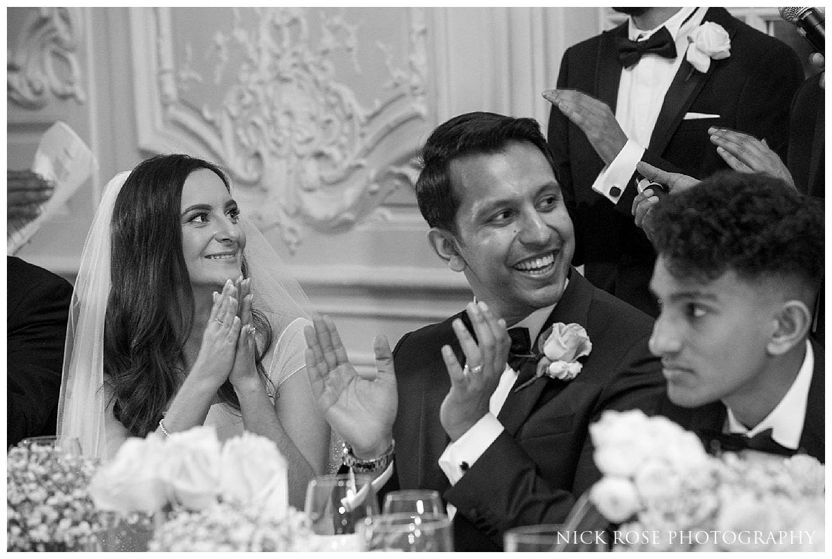 Savoy London wedding reception