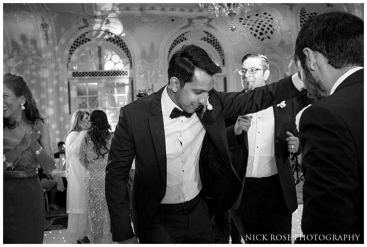 Wedding reception photography at The Savoy Hotel