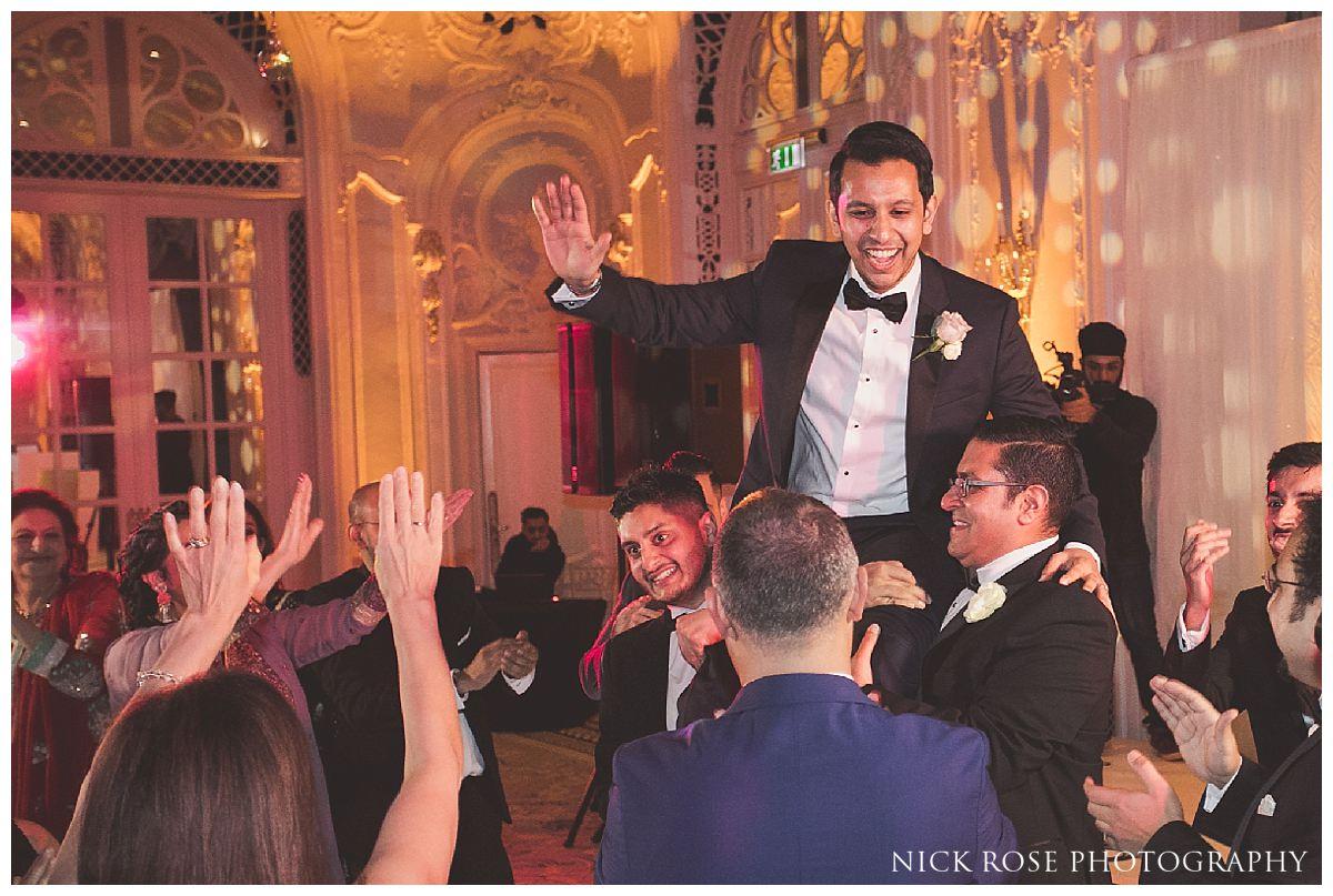 The Savoy London wedding reception dancing