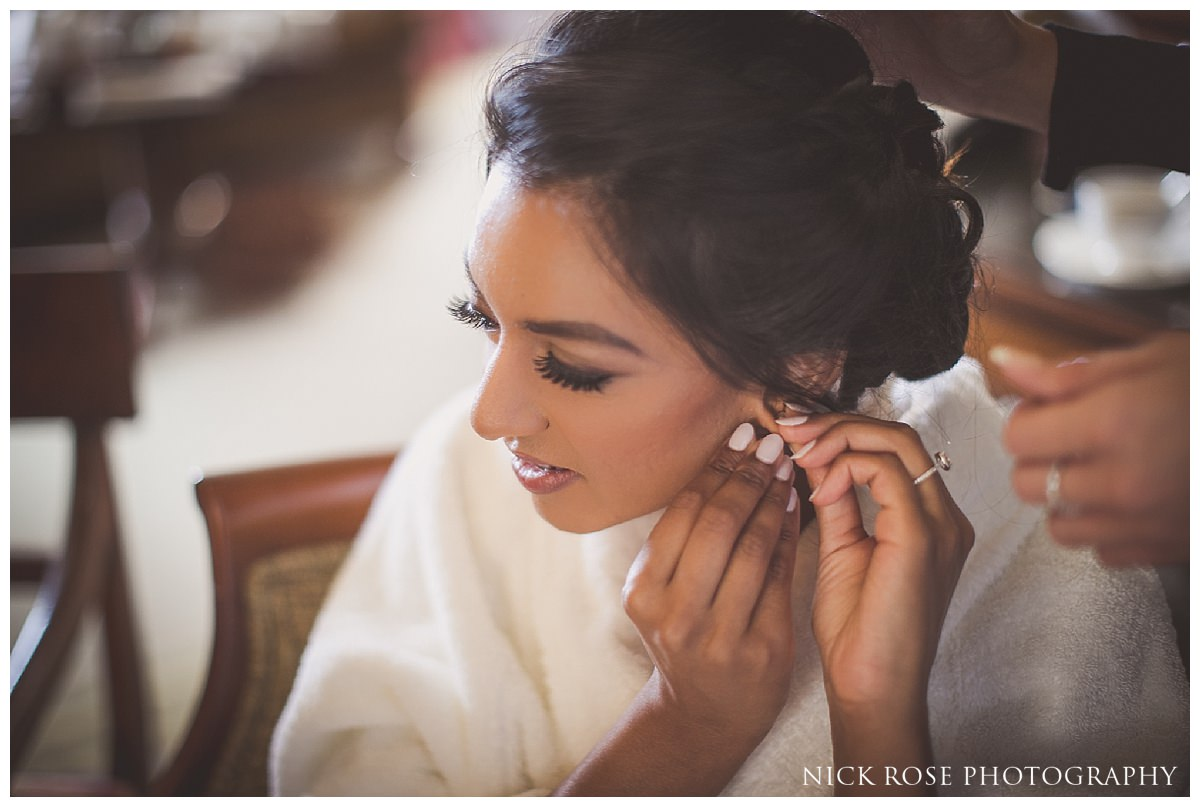 Indian civil wedding photography at Stoke Park Hotel in Buckinghamshire