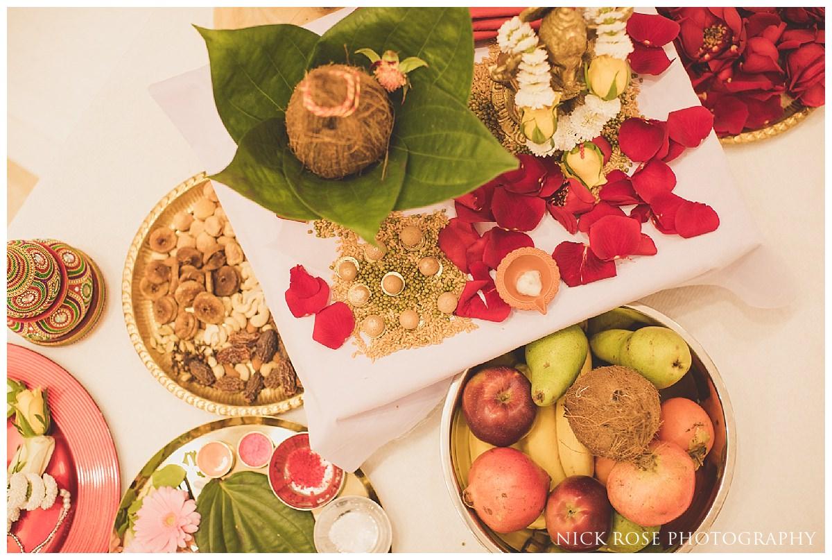 Hindu wedding at the Oshwal Centre in Potters Bar
