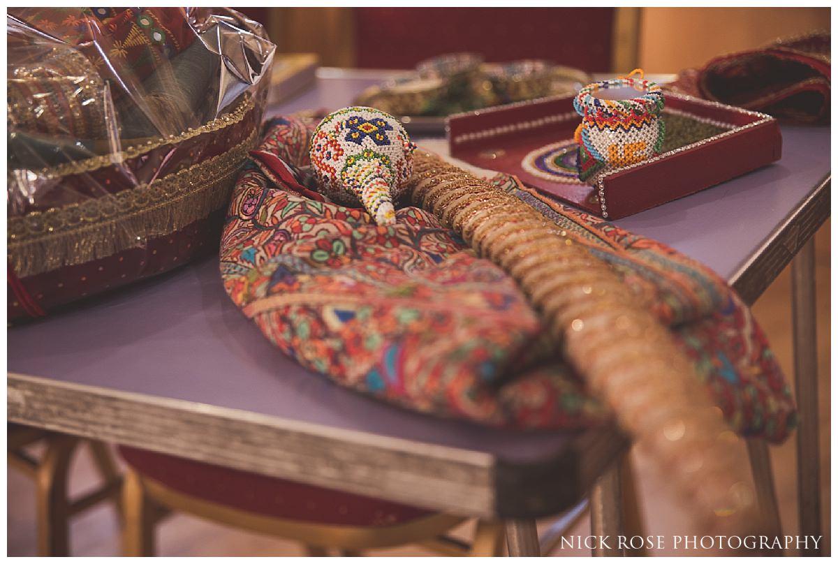 Groom wedding details for a Hindu wedding in Hertfordshire