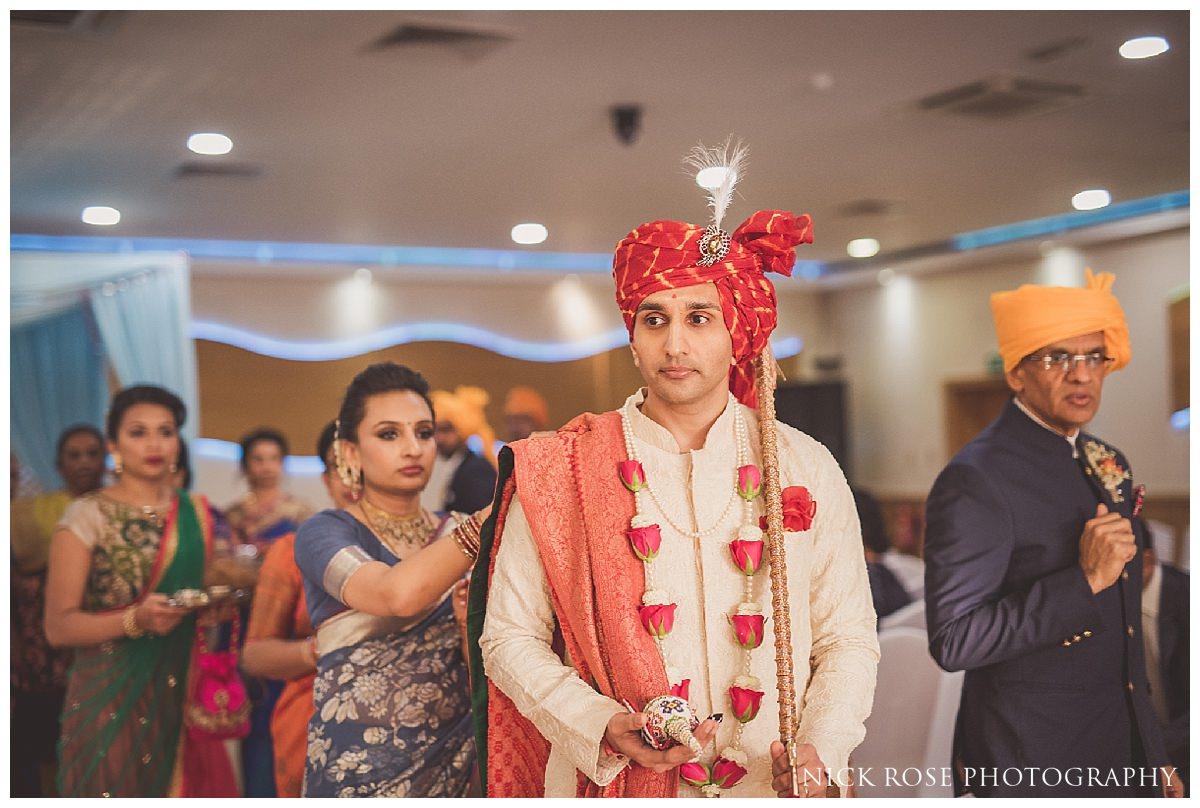 Hindu wedding photography in the UK