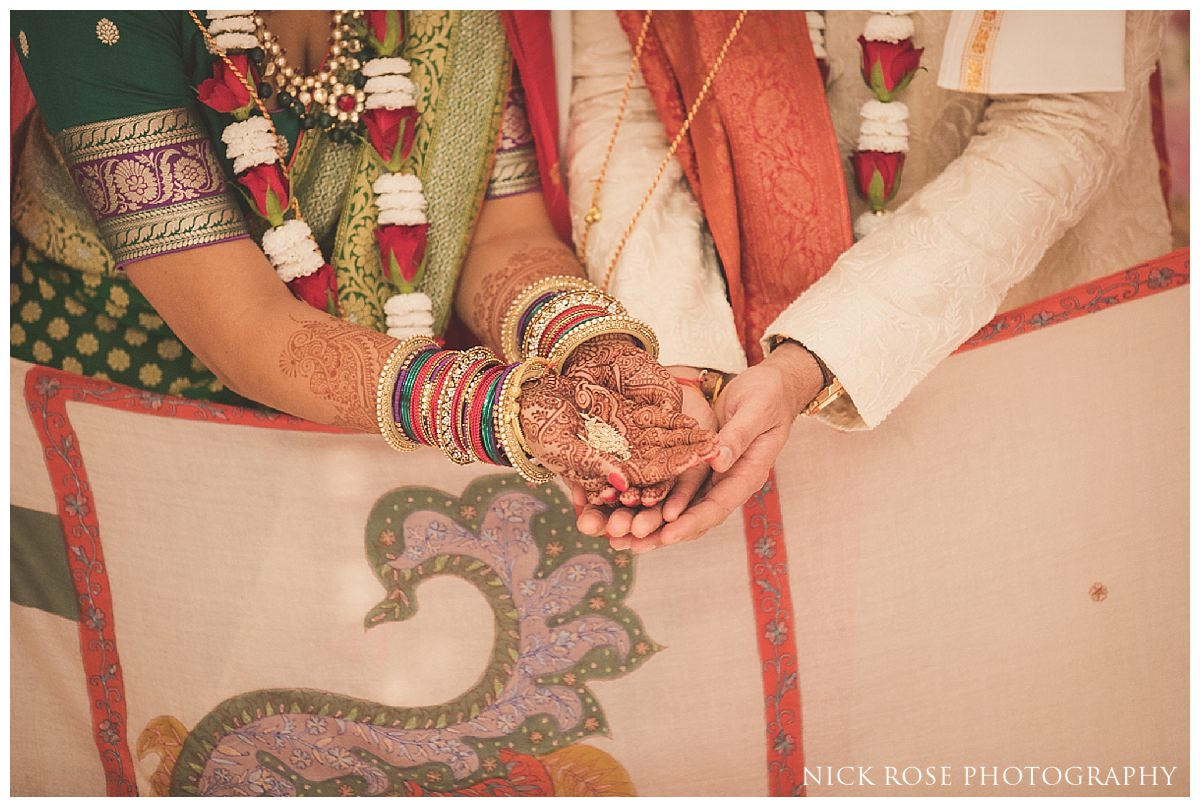 Indian Hindu wedding in Potters Bar at the Oshwal Centre