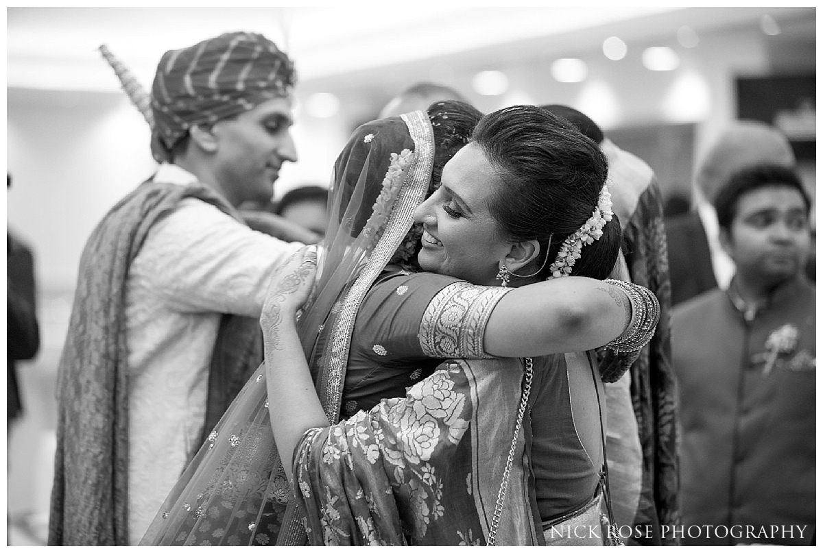 Hindu viddi during an Indian wedding in Hertfordshire