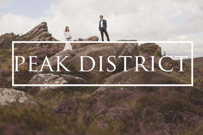 Peak District pre wedding photography in the English countryside