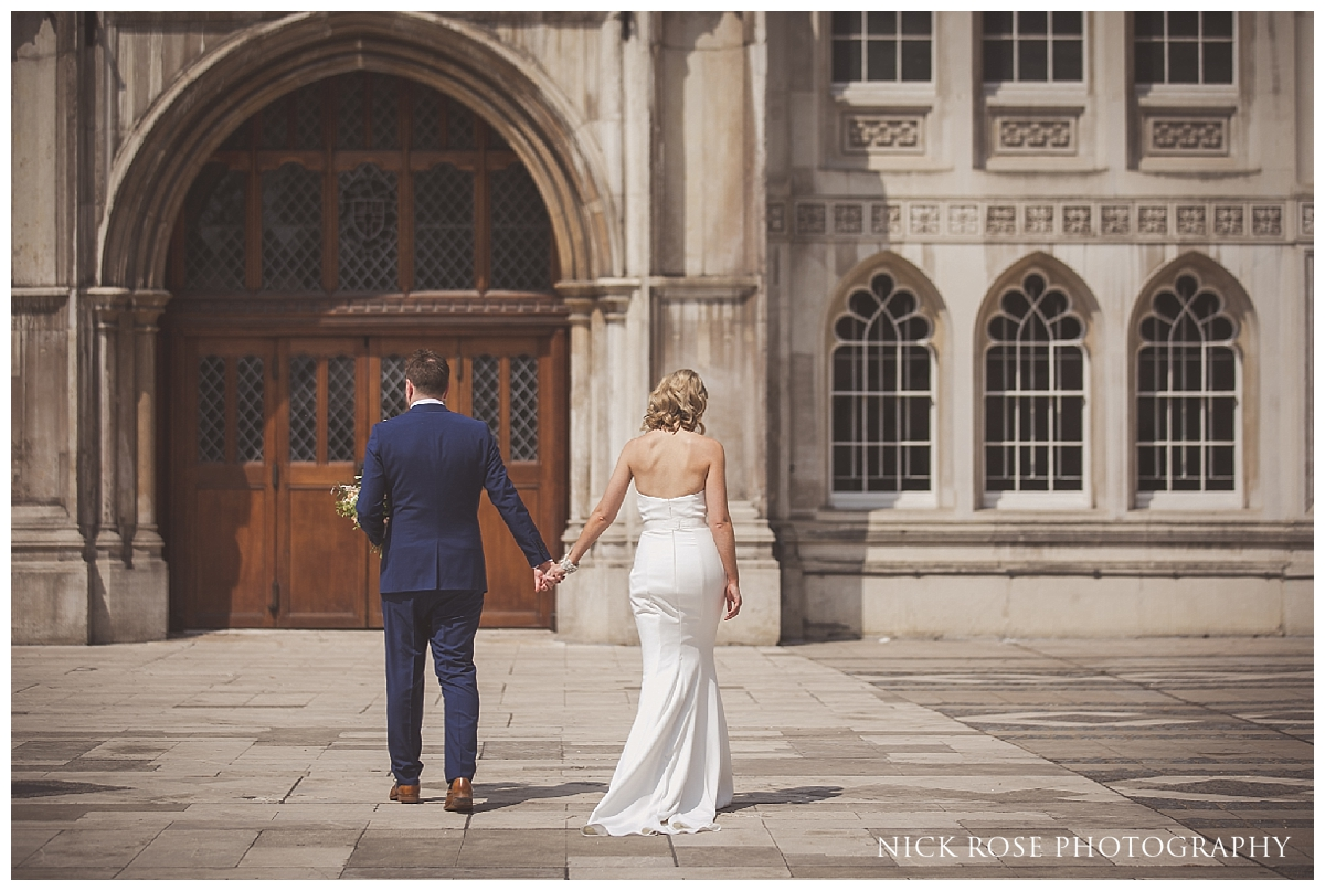 Wedding Photography at South Place Hotel in Moorgate London