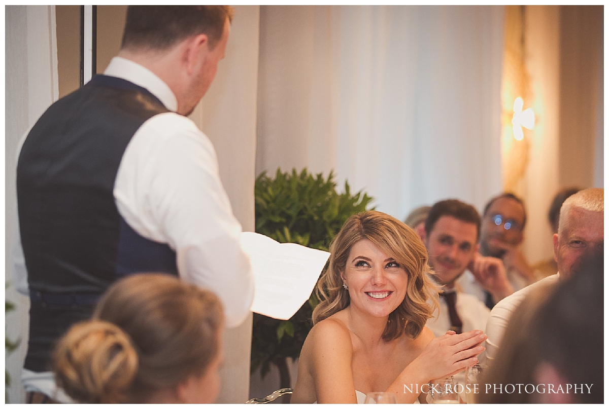 Wedding reception photography at the South Place Hotel in Moorgate