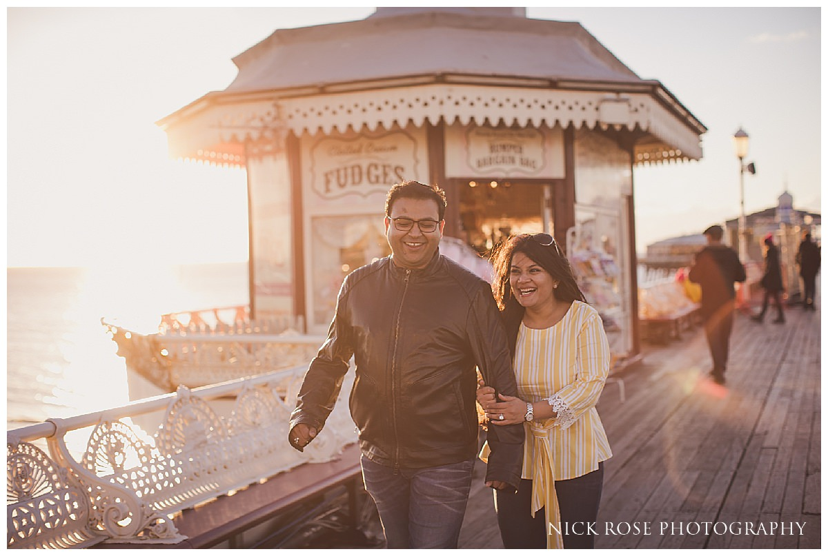 Seaside Pre Wedding Photography in Blackpool England