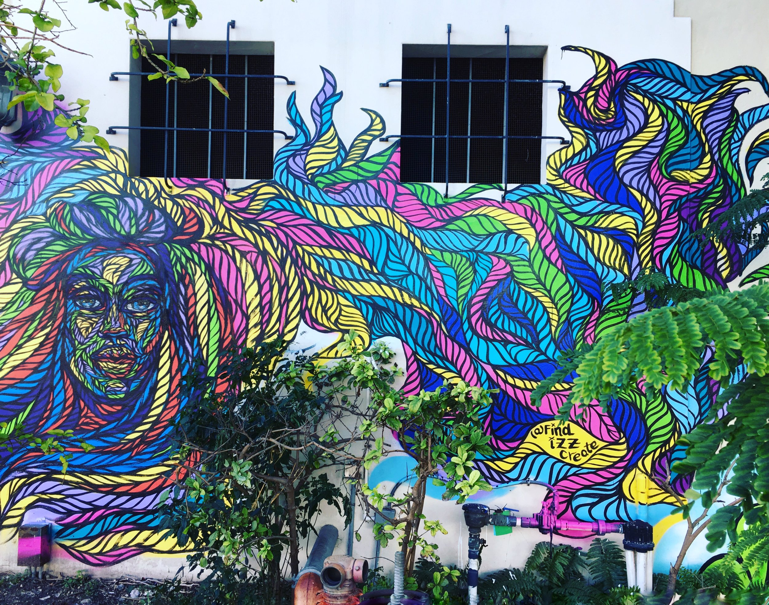 Miami Art Basel 2017- 2nd ave and 3rd Miami, FL