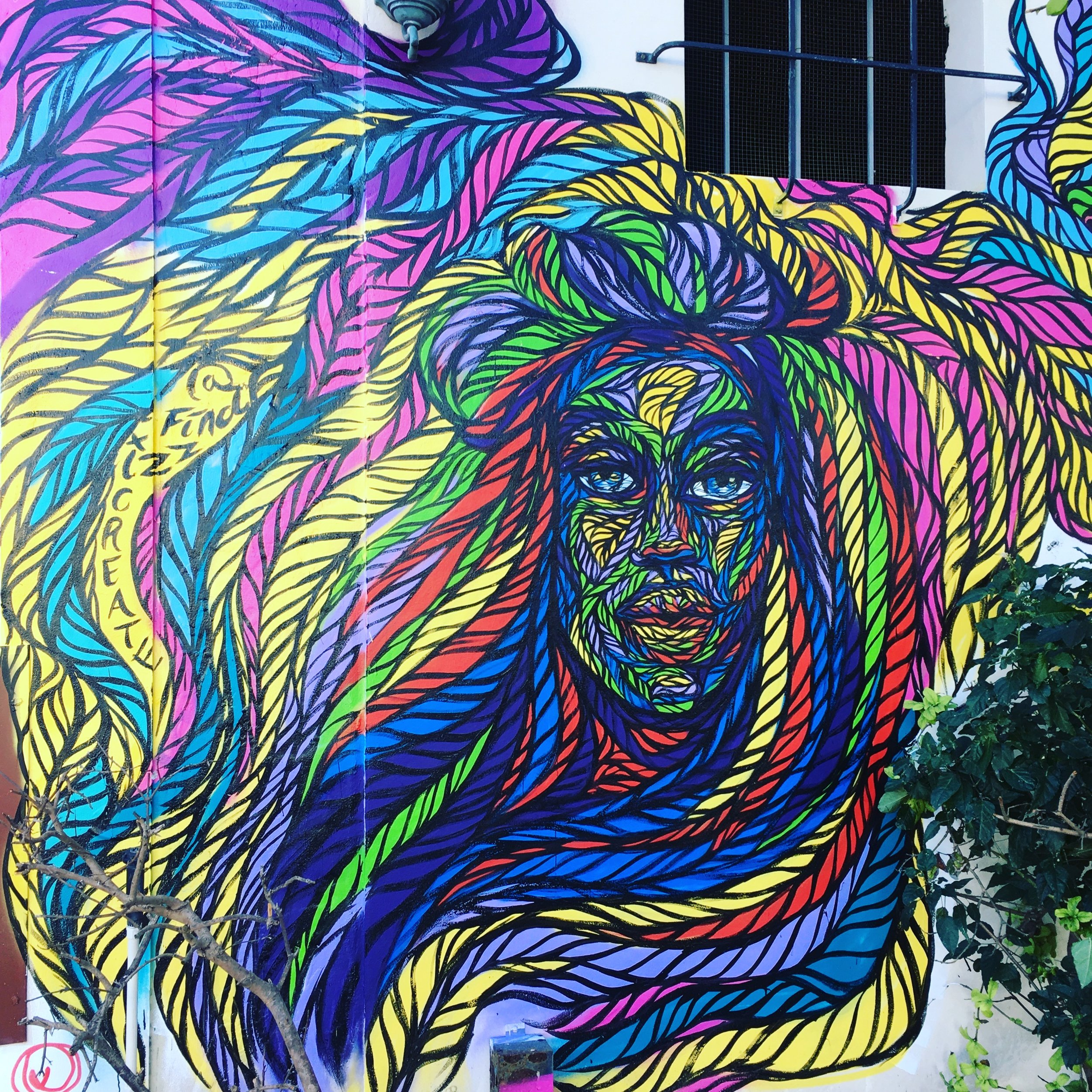 Miami Art Basel 2017 located on 2nd ave and 3rd Miami, FL