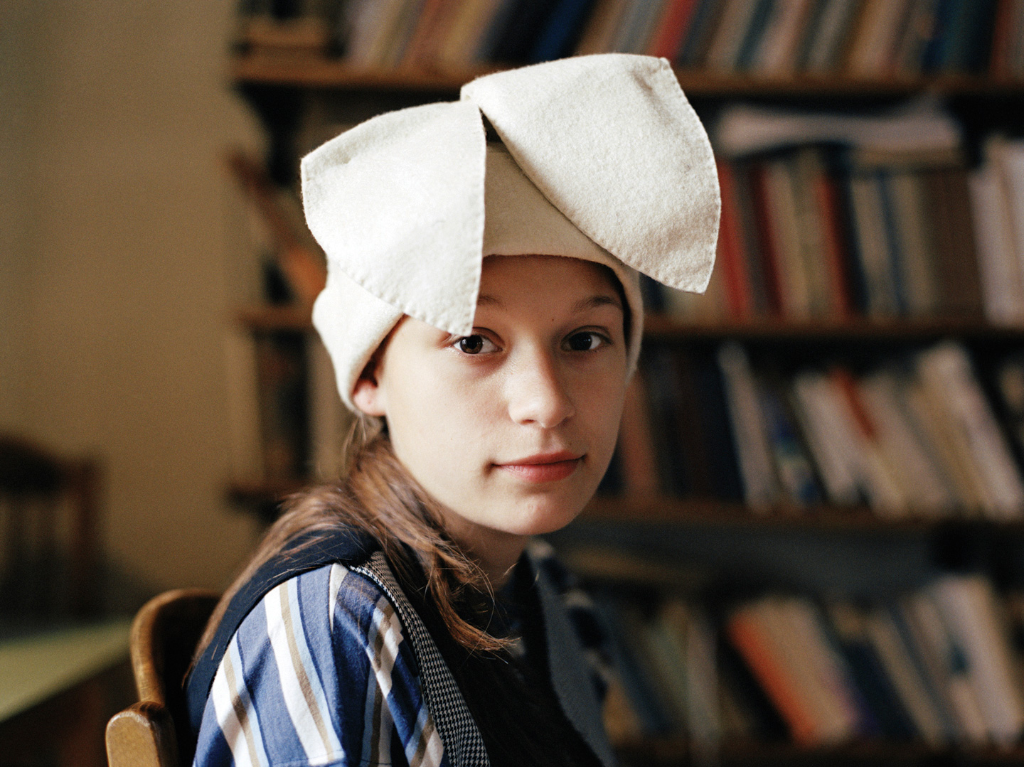 Zsuzsa P in Rabbit Ears, 2004