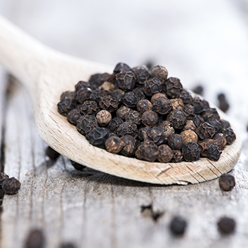 "Black pepper has a fine, fruity, pungent aroma, with a hot and biting taste. Can be used with to enhance this flavor in just about everything.           Normal   0           false   false   false     EN-US   JA   X-NONE                                                                                                                                                                                                                                                                                                                                                                                /* Style Definitions */  table.MsoNormalTable 	{mso-style-name:""Table Normal""; 	mso-tstyle-rowband-size:0; 	mso-tstyle-colband-size:0; 	mso-style-noshow:yes; 	mso-style-priority:99; 	mso-style-parent:""""; 	mso-padding-alt:0in 5.4pt 0in 5.4pt; 	mso-para-margin:0in; 	mso-para-margin-bottom:.0001pt; 	mso-pagination:widow-orphan; 	font-size:12.0pt; 	font-family:""Cambria"",""serif""; 	mso-ascii-font-family:Cambria; 	mso-ascii-theme-font:minor-latin; 	mso-hansi-font-family:Cambria; 	mso-hansi-theme-font:minor-latin; 	mso-fareast-language:ZH-CN;}"