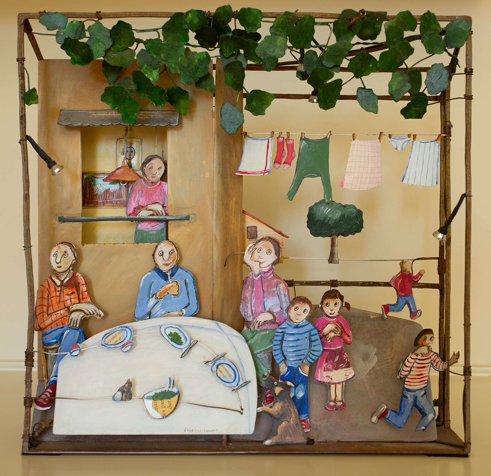 "Elisa Cossonett ""French Family"""