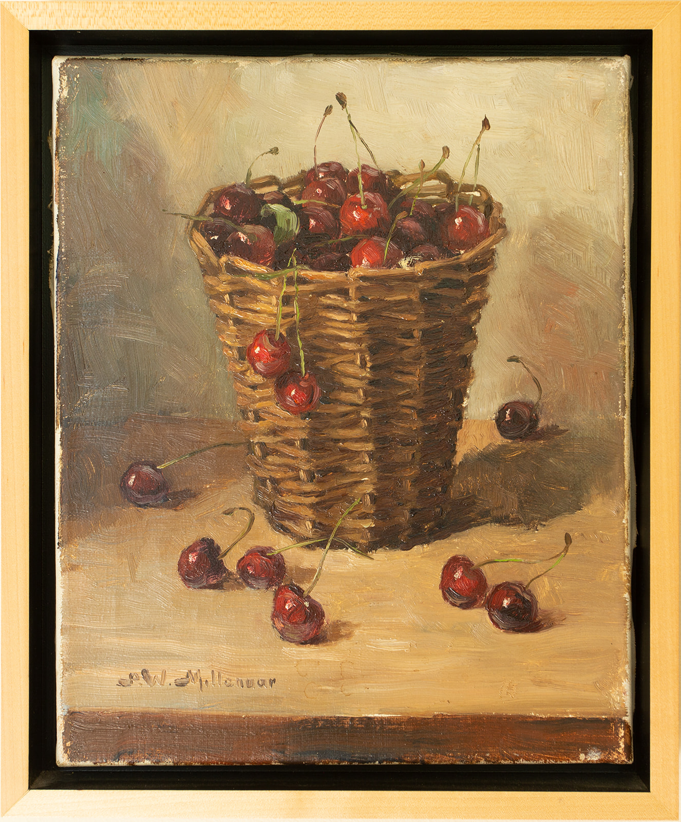 "SOLD: S W Millenoor ""Cherries"""