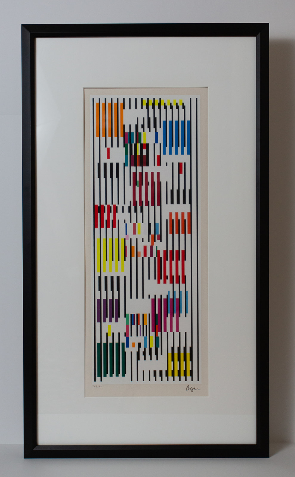 "Yaacov Agam ""Untitled Abstract"""