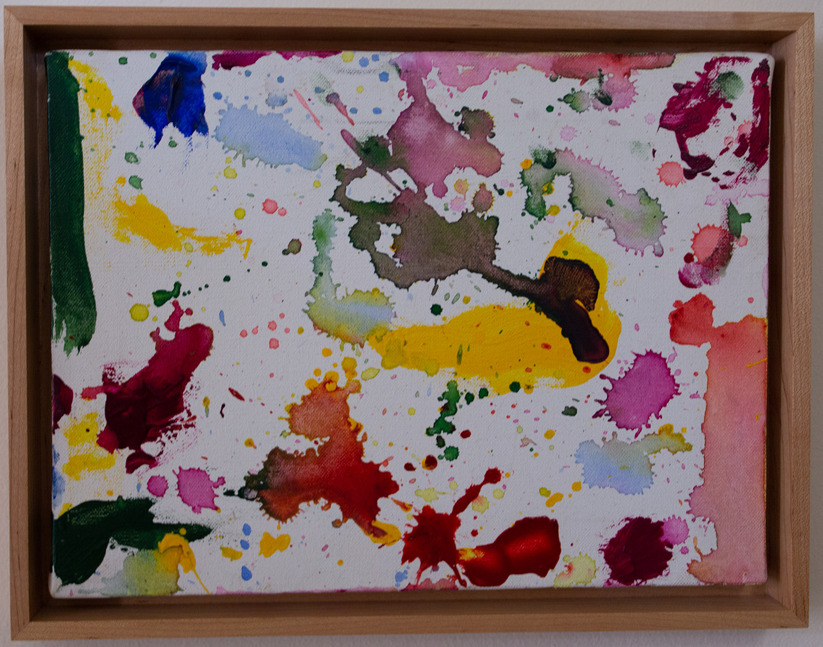 Sam Francis (Unknown: Splatter Paint)