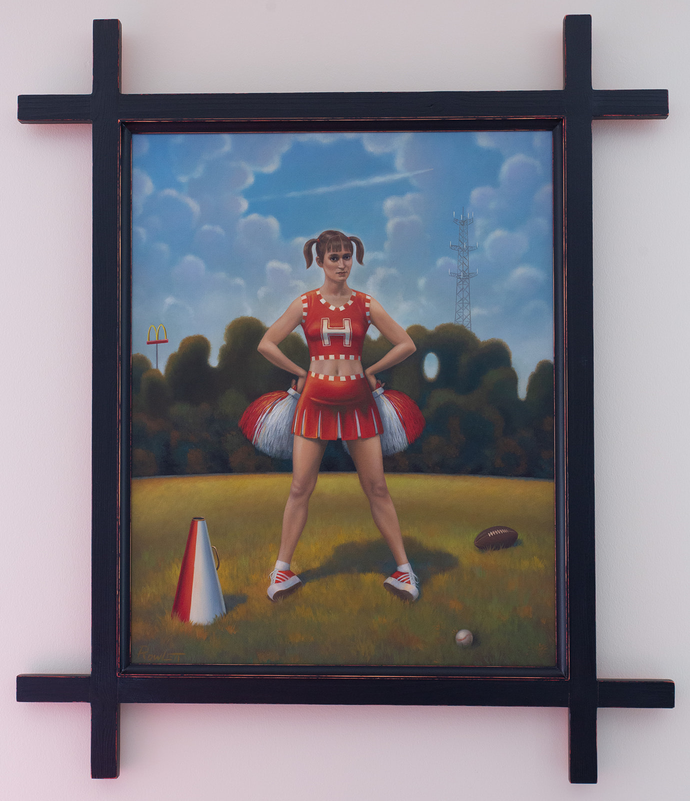 "Terry Rowlett ""The Cheerleader"""