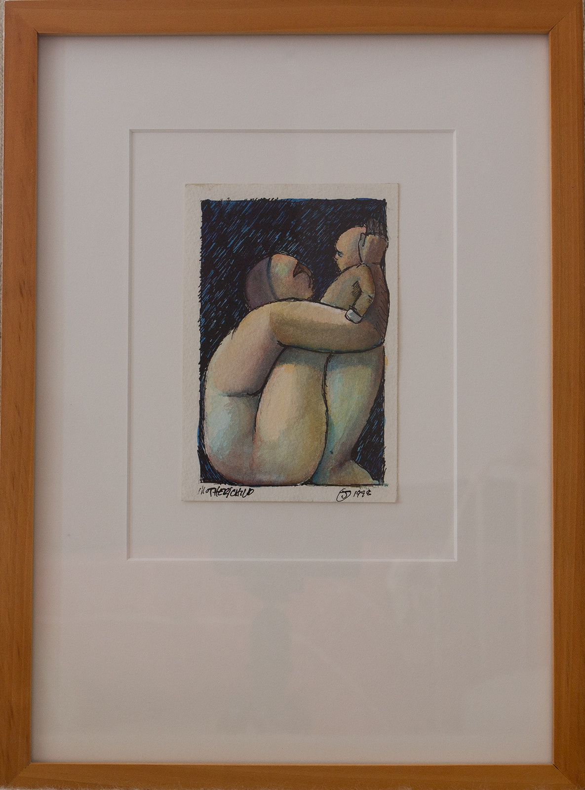 "Buddy Jackson ""Untitled (Mother & Child)"""