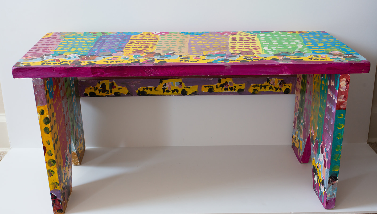 "Woodie Long ""New York Taxi Bench"" (View 3)"