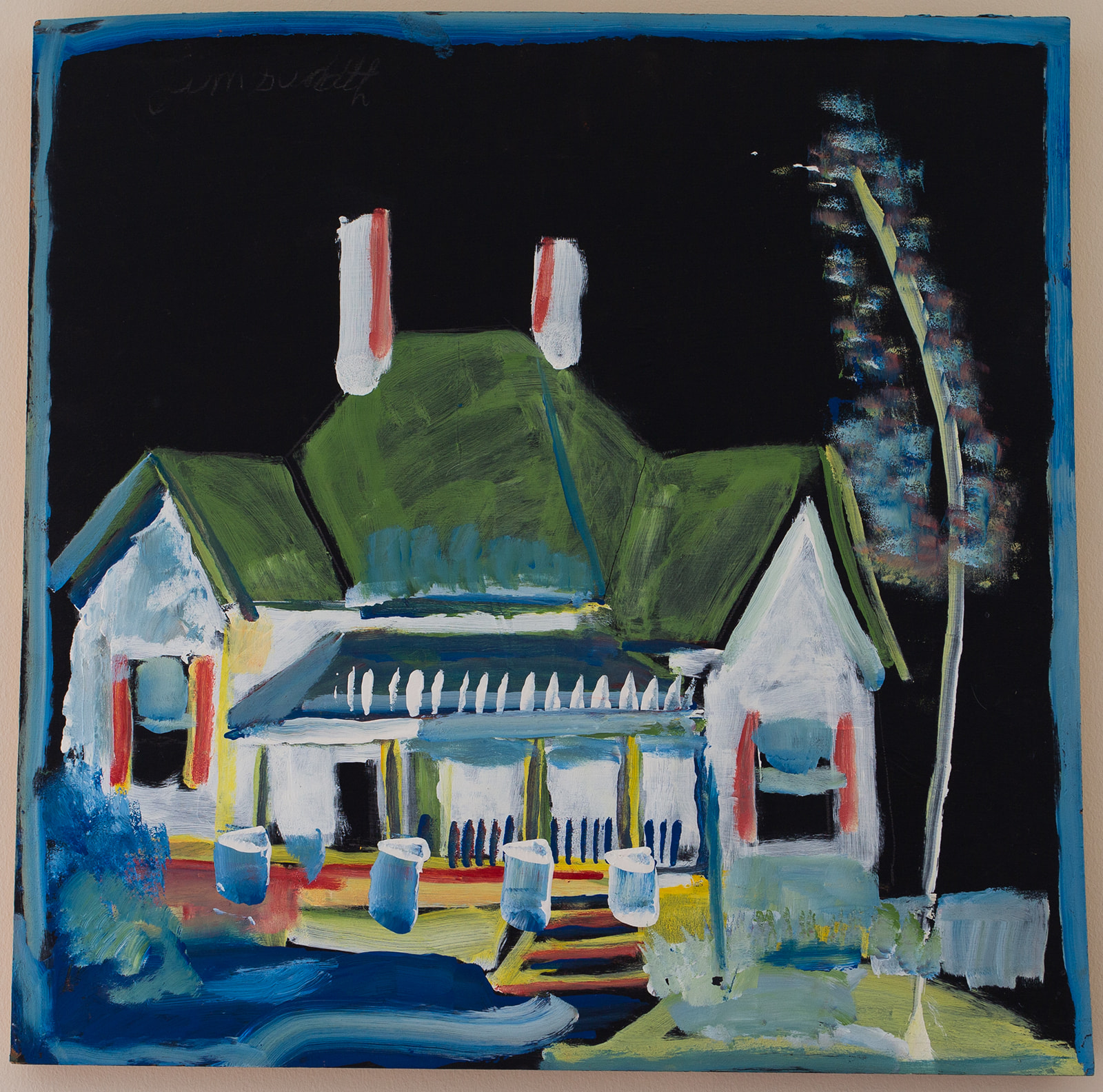 "Jimmie Lee Sudduth ""House in the Woods"""