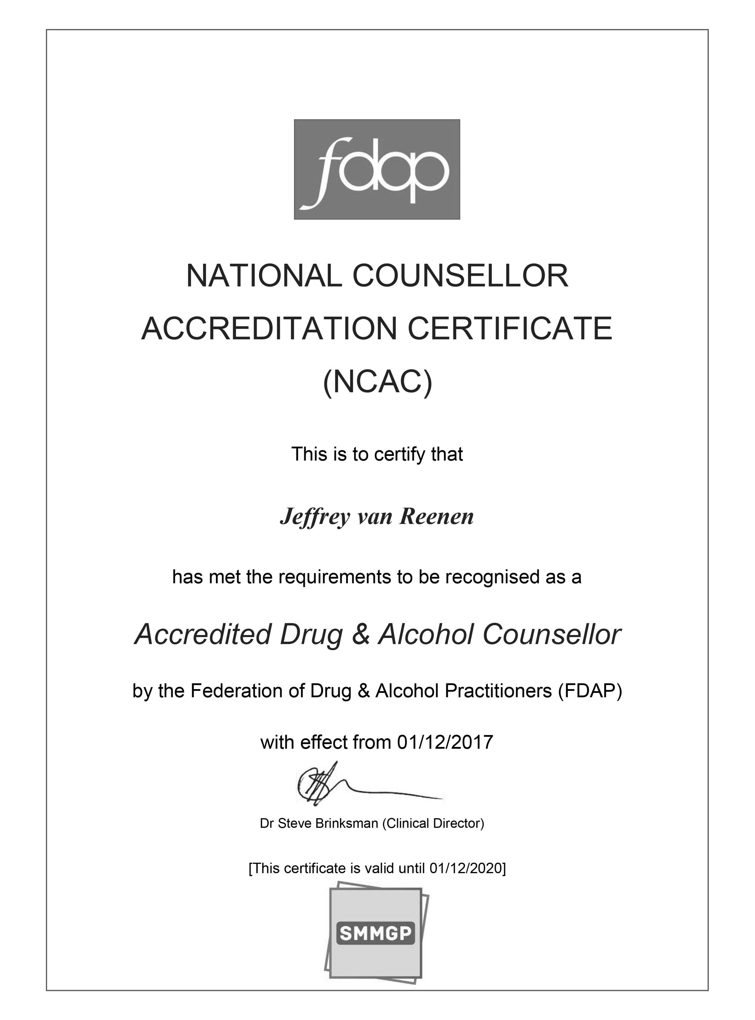 Jeffrey van Reenen NCAC Certificate.jpg